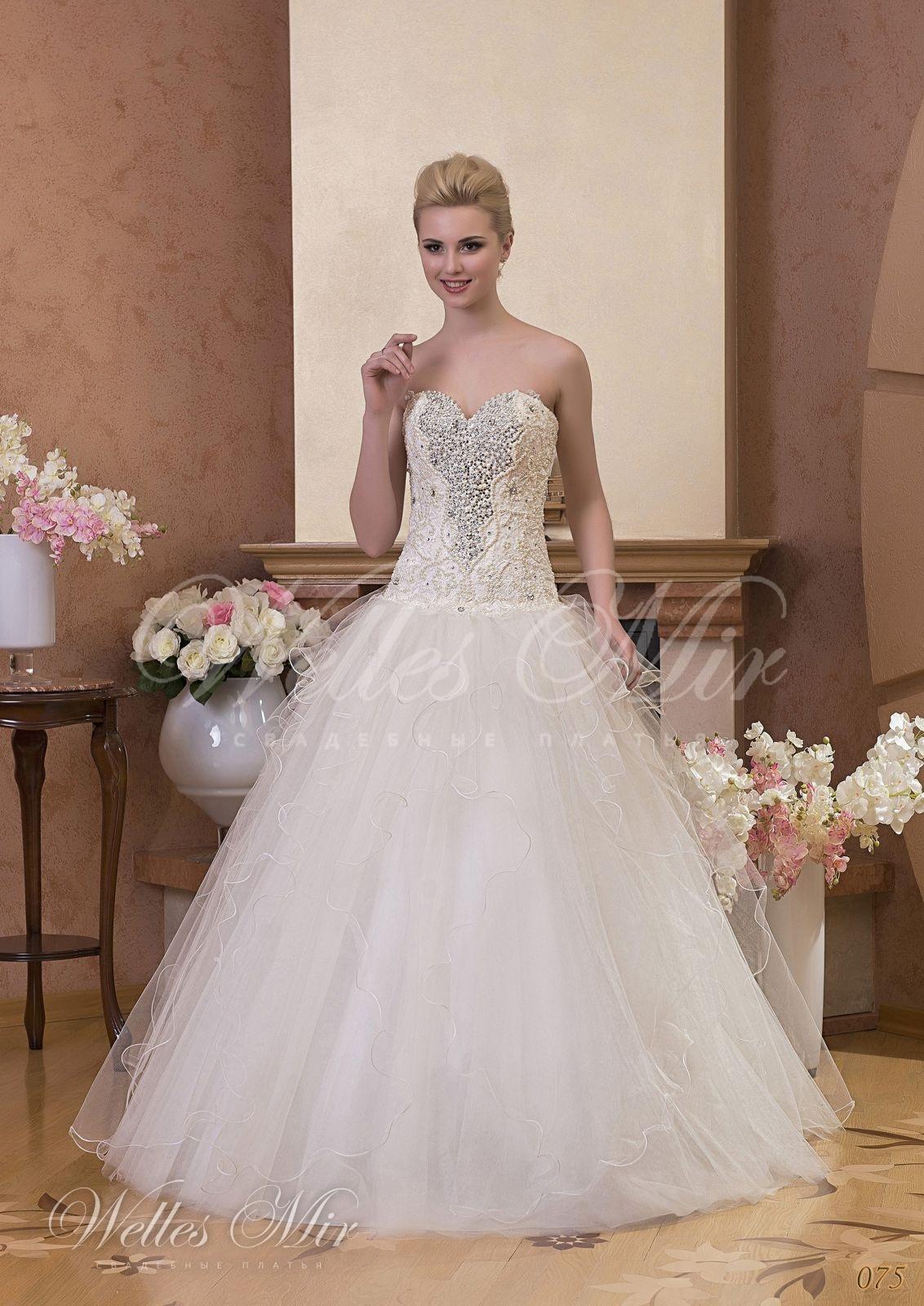 Свадебные платья Gentle Rose - 075