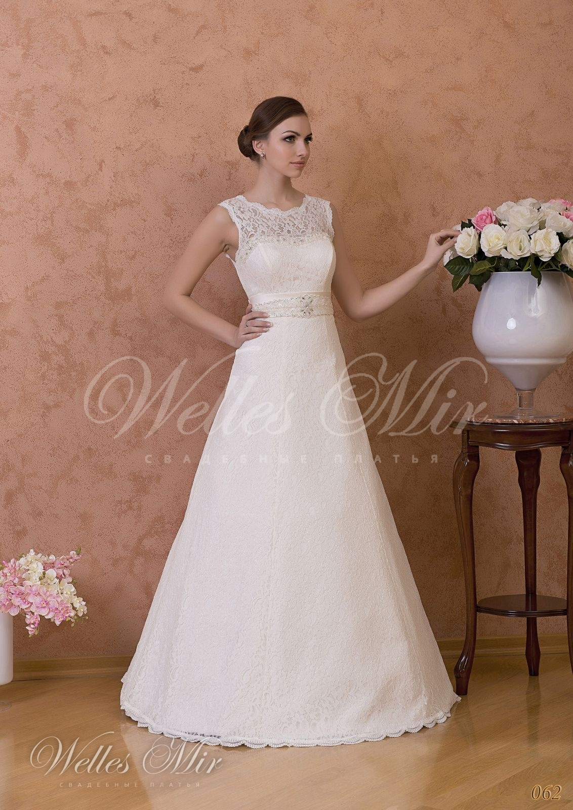 Свадебные платья Gentle Rose - 062