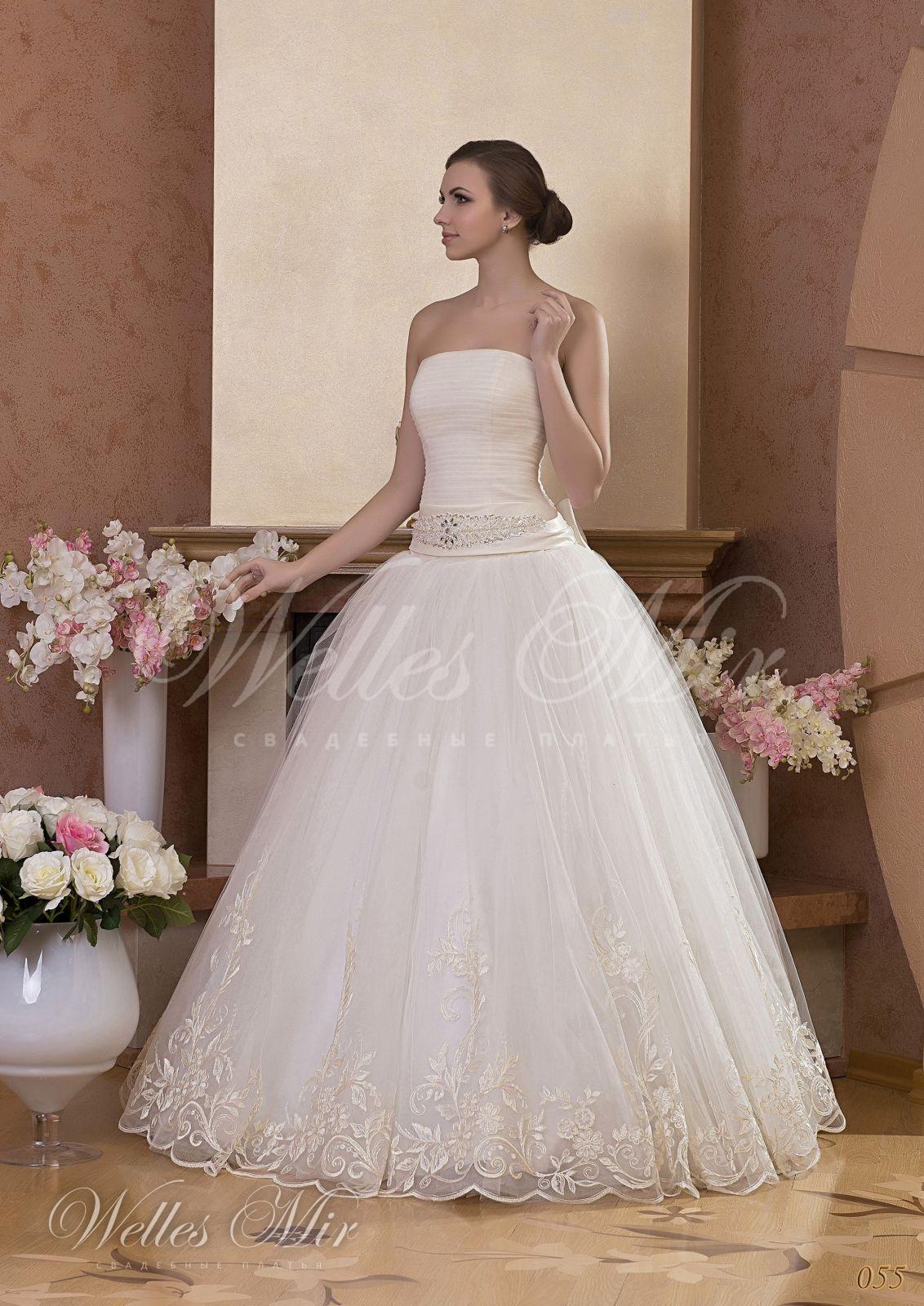 Свадебные платья Gentle Rose - 055