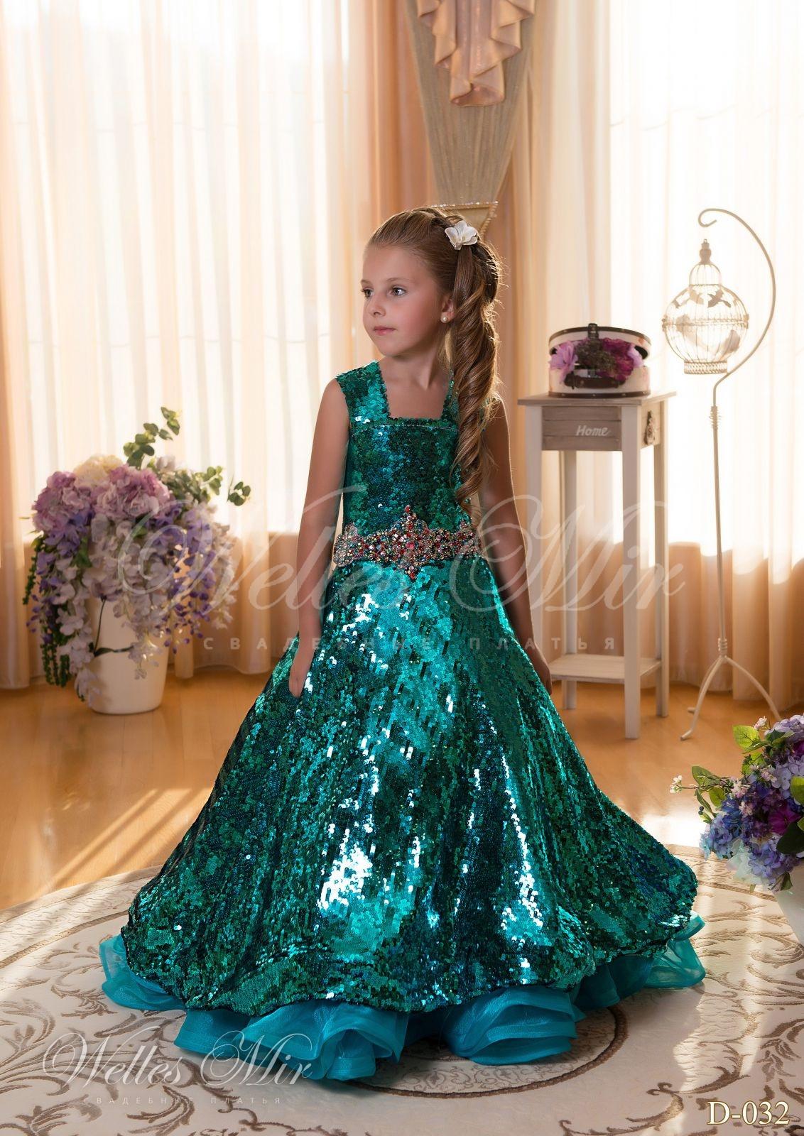 Детские платья Детские платья 2015 - D-032