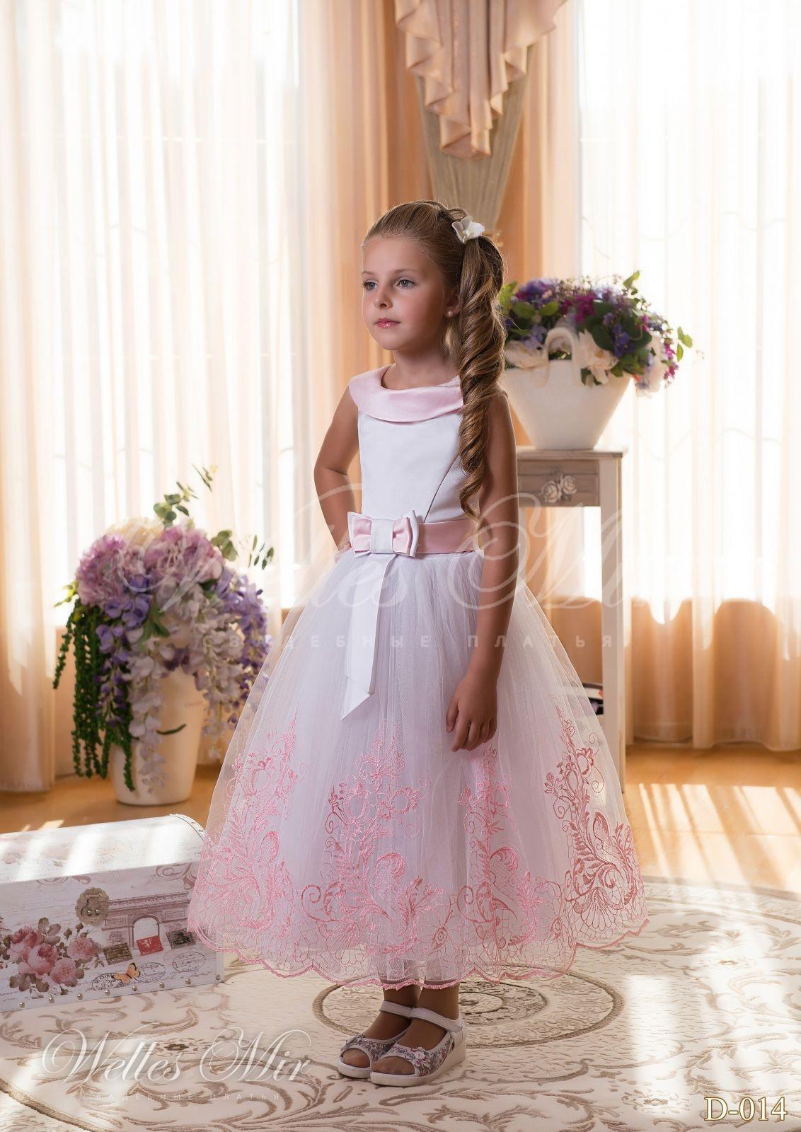 Детские платья Детские платья 2015 - D-014