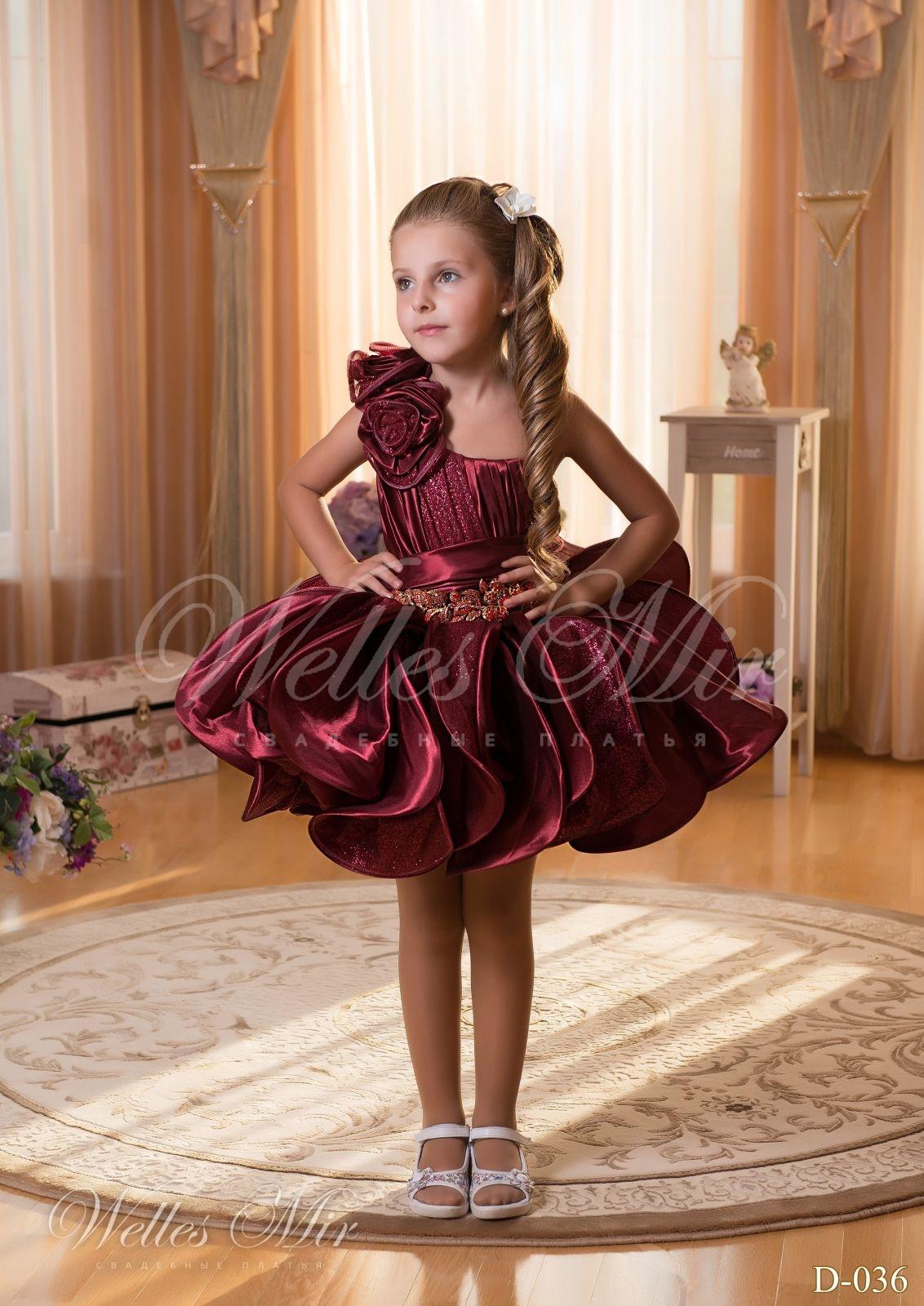 Детские платья Детские платья 2015 - D-036