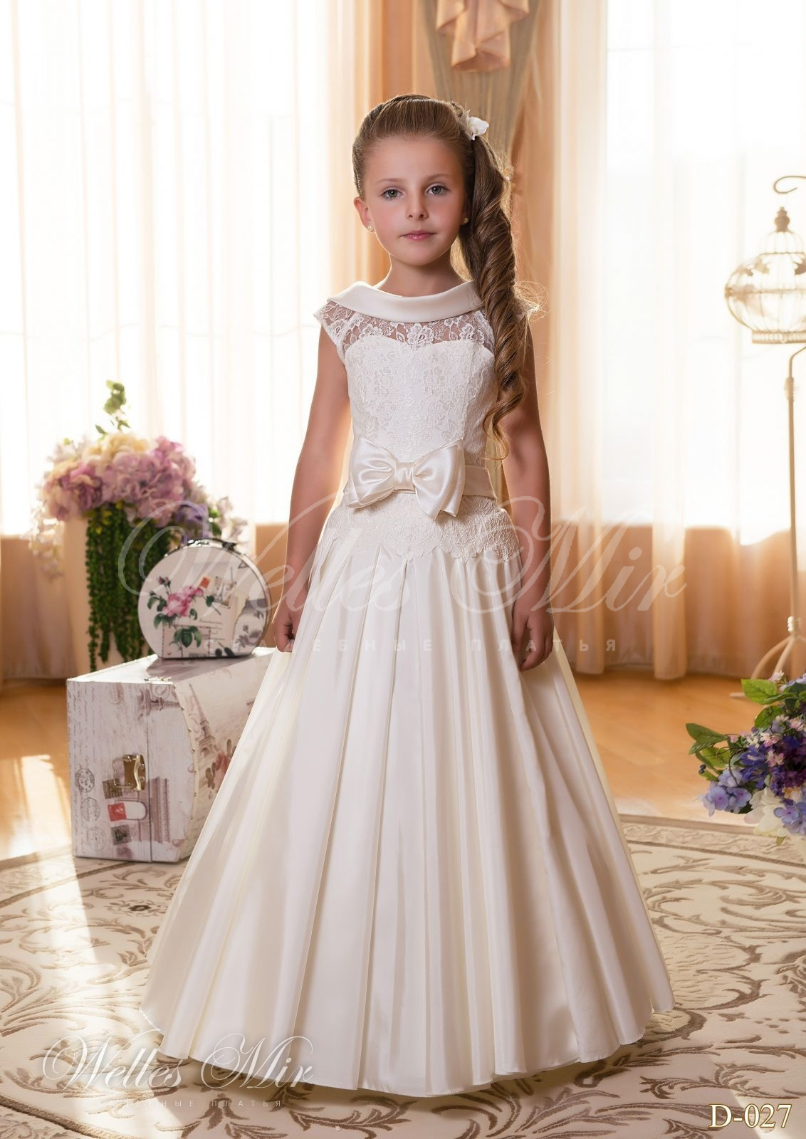 Детские платья Детские платья 2015 - D-027