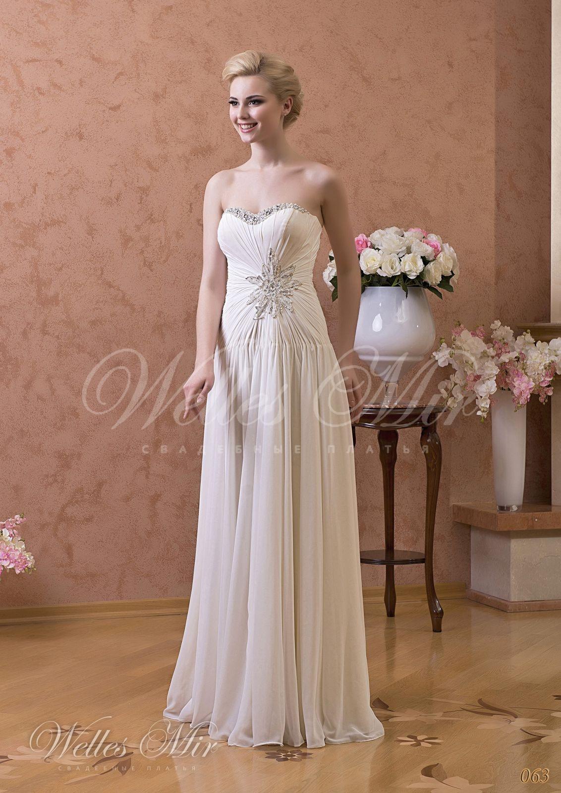 Свадебные платья Gentle Rose - 063