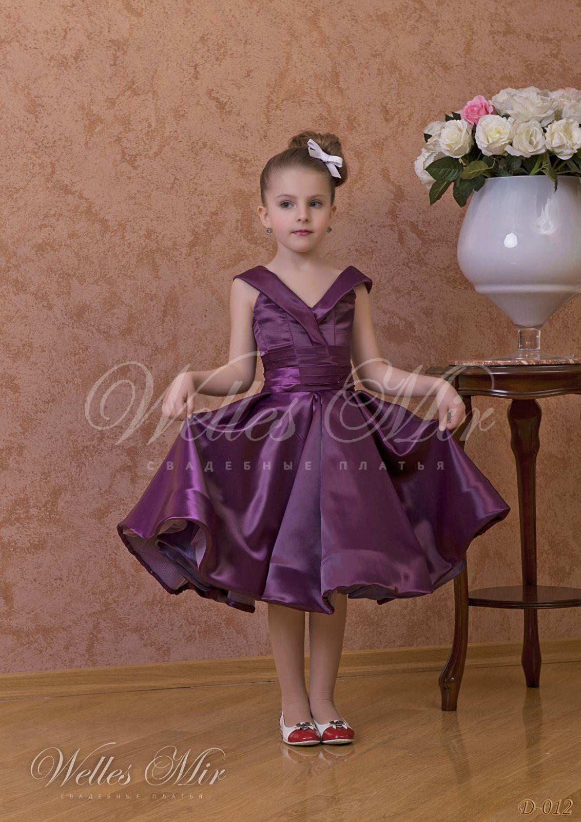 Детские платья Детские платья 1 - D-012
