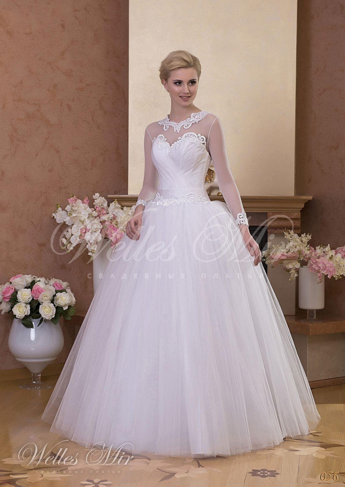 Свадебные платья Gentle Rose - 056