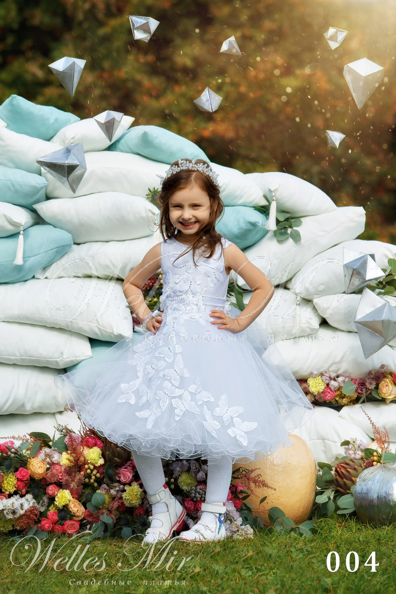 Детские платья Kids Deluxe Collection 2018 - 004