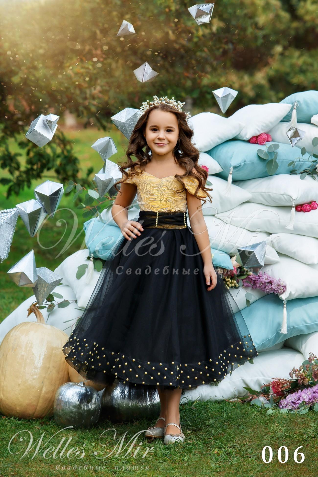 Детские платья Kids Deluxe Collection 2018 - 006
