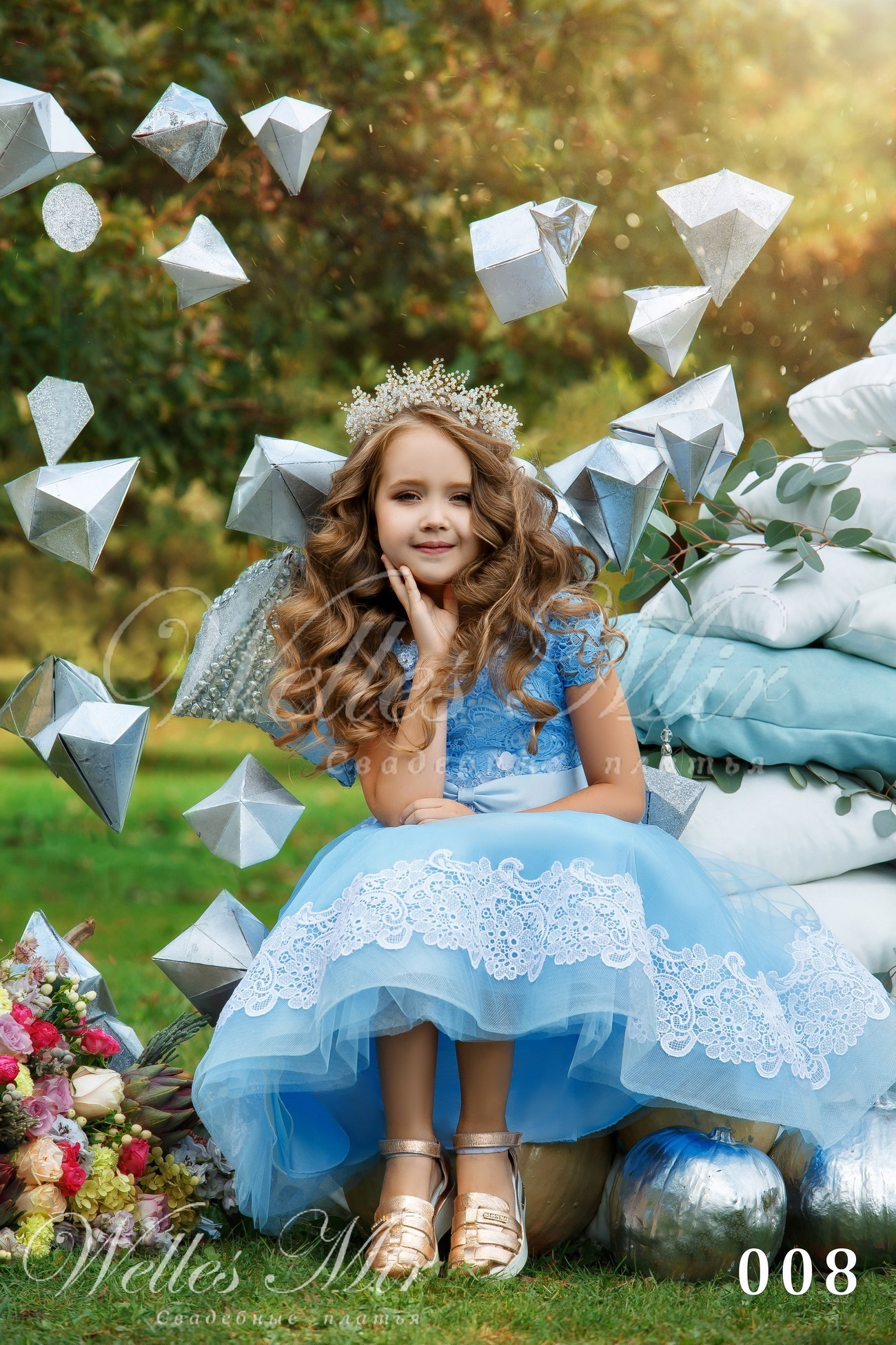 Детские платья Kids Deluxe Collection 2018 - 008