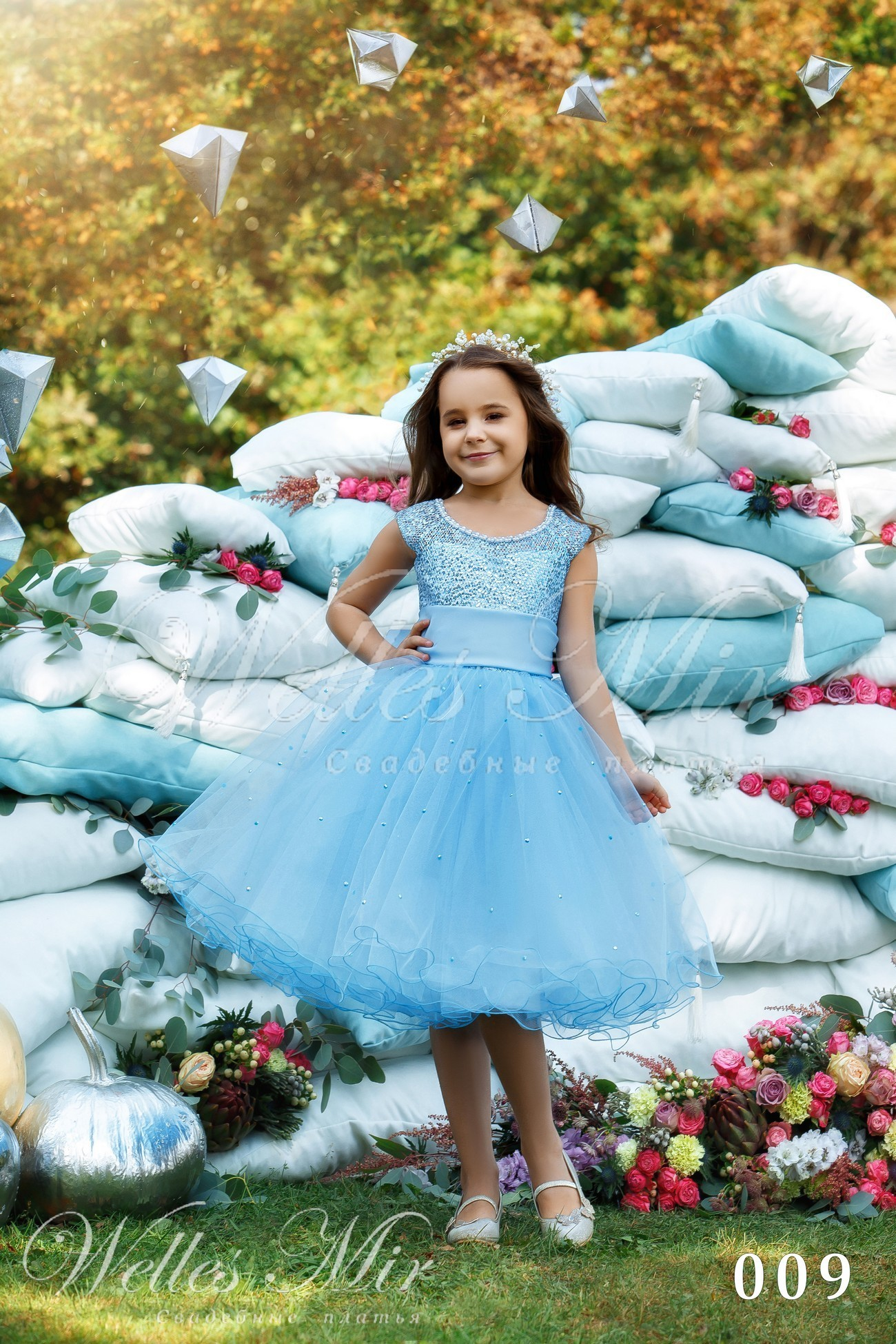 Детские платья Kids Deluxe Collection 2018 - 009