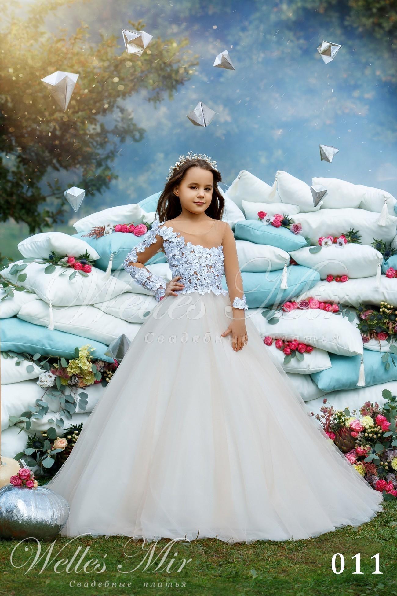 Детские платья Kids Deluxe Collection 2018 - 011