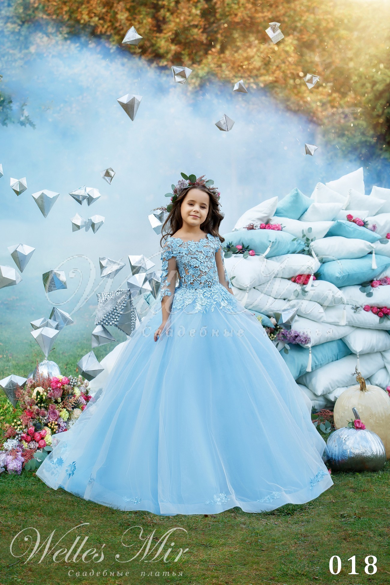 Детские платья Kids Deluxe Collection 2018 - 018