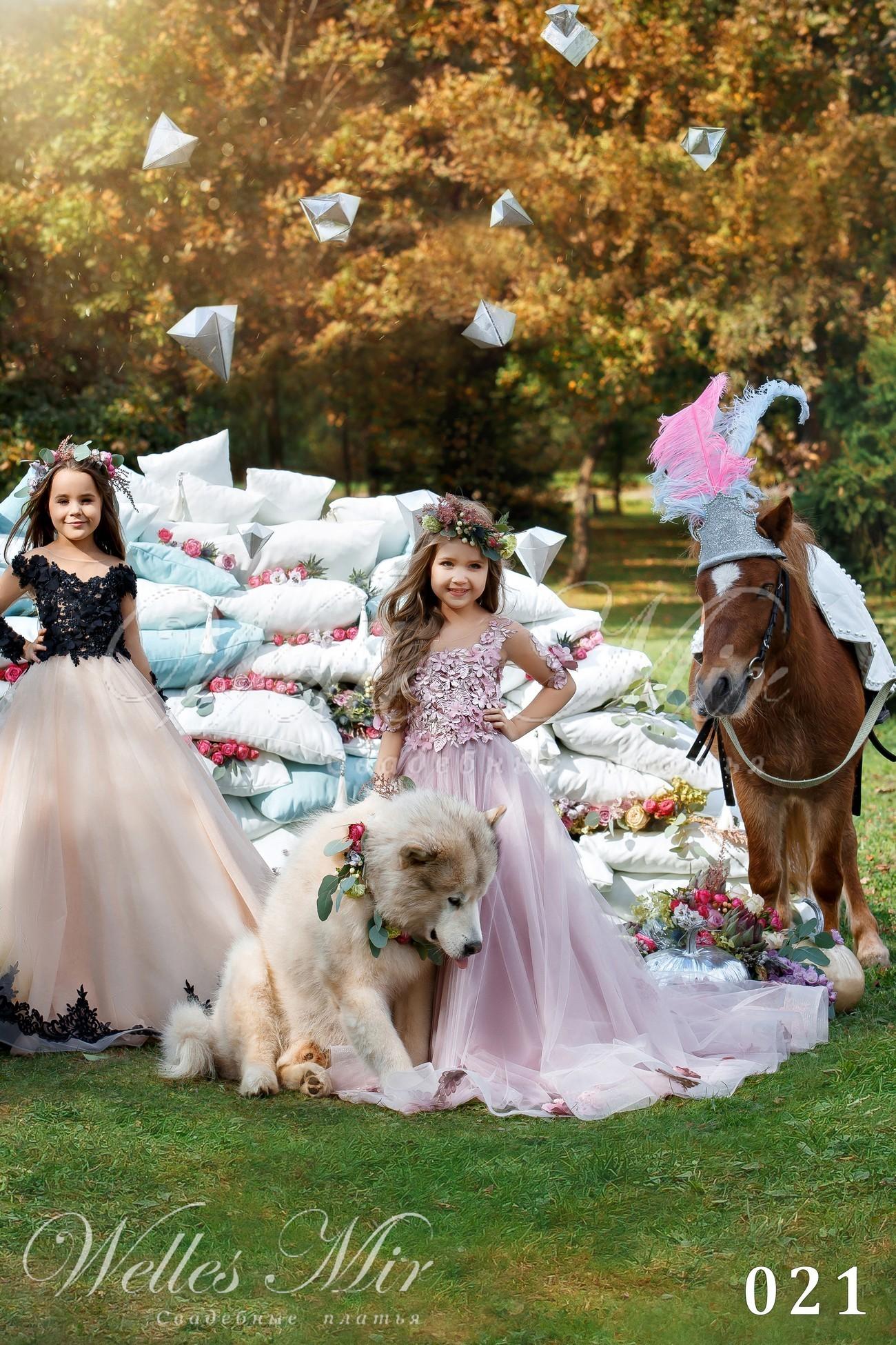 Детские платья Kids Deluxe Collection 2018 - 021