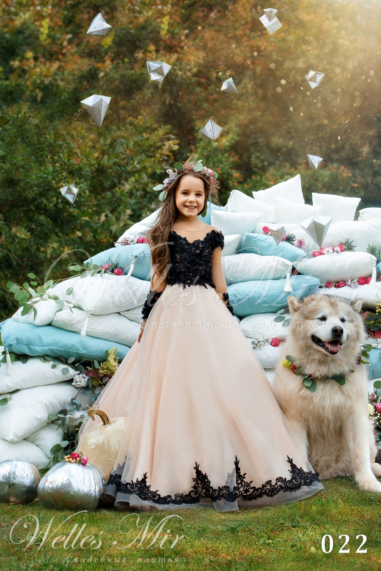 Детские платья Kids Deluxe Collection 2018 - 022