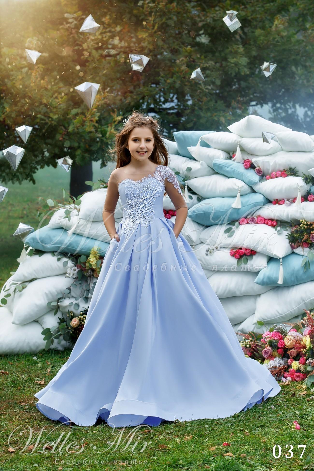 Детские платья Kids Deluxe Collection 2018 - 037
