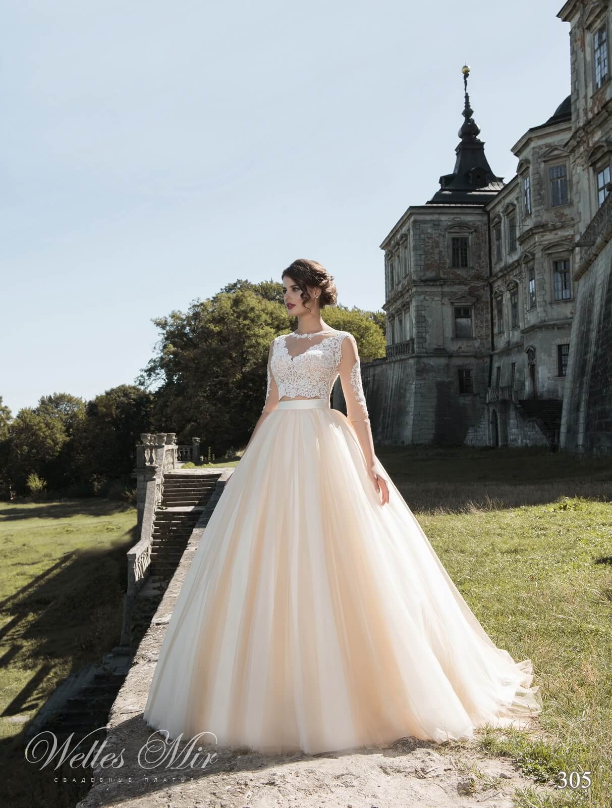 Wedding dresses in bulk from manufacturer WellesMir
